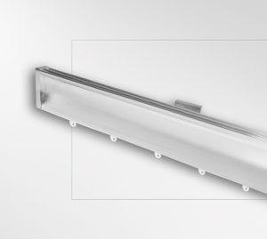 Profilo alluminio parabola 80x25