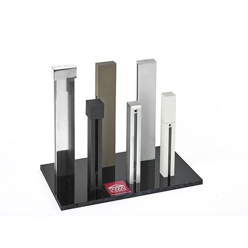 Espositore Alluminio 3,5 e quadro