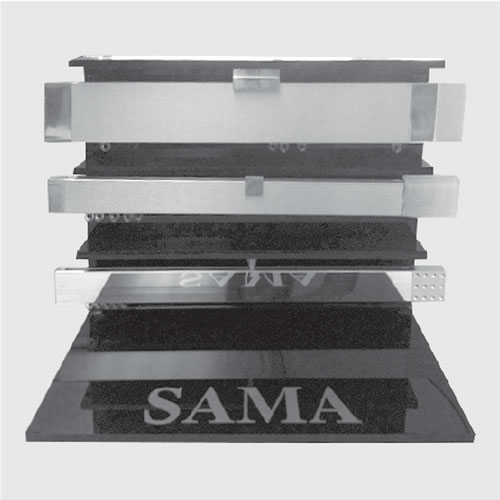 Display stand for aluminium products