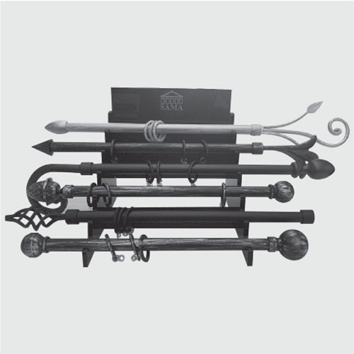 Display stand for iron products